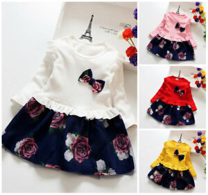 1pc-baby-clothes-baby-kids-girls-party-daily-birthday-princess-floral-dress-Tutu