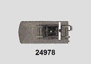 Maerklin-H0-24978-C-Gleis-Gleisende-mit-Prellbock-Beleuchtung-NEU-OVP