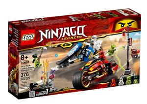 Lego Ninjago 70667 Kai's Blade Cycle & Zane's Snow Motone ~ new ~ 5702016367478