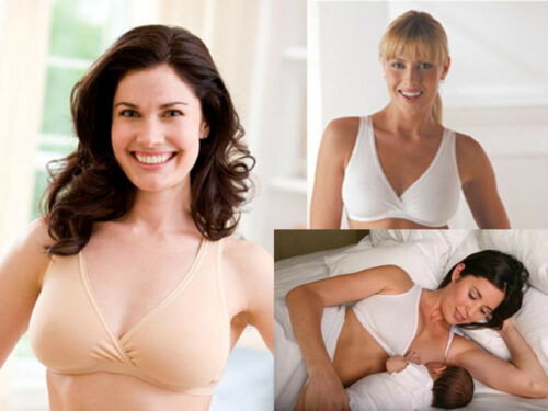 MEDELA BREAST FEEDING NIGHT NURSING SLEEP MATERNITY BRA