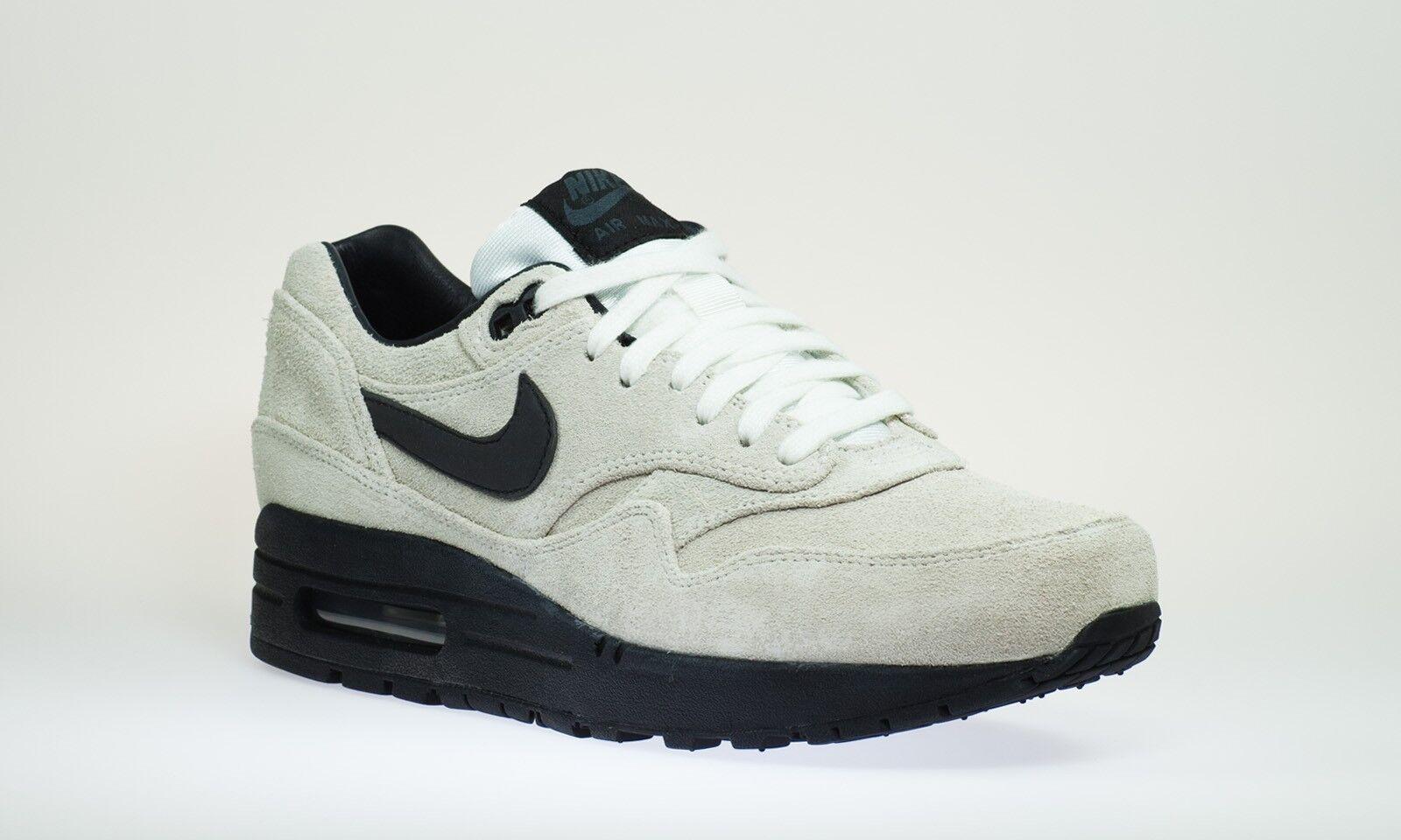 Nike Air Max 1 premium 512033 100 zapatos caballero zapatos talla 44.5 45 46 12 10 Reino Unido 9.5 11