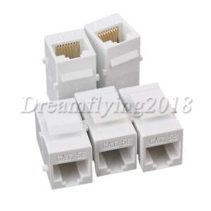 5Pcs 8p8c Inline Coupler for Cat6 Ethernet Cable Coupling