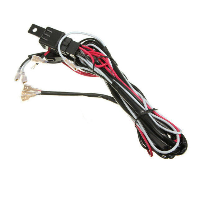 12v led light bar laser rocker switch wiring harness kit 40a relay fuse40a 12v car rocker switch relay fuse wiring harness kit led light bar wys