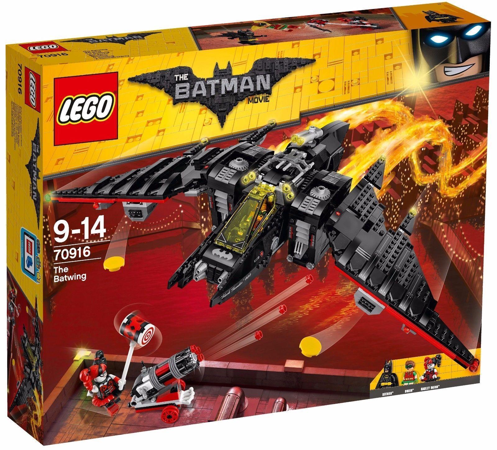 LEGO® THE LEGO® BATMAN MOVIE 70916  Batwing  Harley Quinn NEU OVP NEW MISB