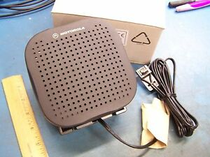 Speaker EXTERNAL for Motorola CDM750 CDM1250 CDM1550 CDM1550-LS CDM1550-LS+