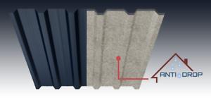 Dachblech 25 m2 Antikondensvlies für Trapezblech Antitropfbeschichtung