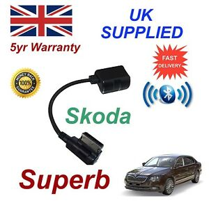 para-SKODA-SUPERB-Bluetooth-Musica-Stream-Modulo-Samsung-Motorola-Amazon-Nokia