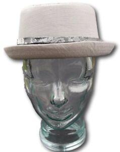 Dynamisch Cotton Rude Boy / Ska / Northern Soul Pork Pie Hat - Grey Size 59cm
