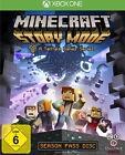 Minecraft: Story Mode - A Telltale Games Series (Microsoft Xbox One, 2015, DVD-Box)