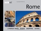 InsideOut: Rome Travel Guide: Handy, pocket size guide to Rome with 2 pop-out maps by Compass Maps (Hardback, 2014)