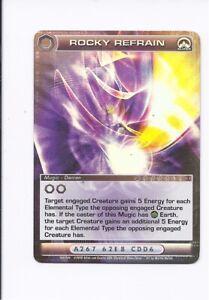 Chaotic-Mugic-card-Super-Rare-Rocky-Refrain