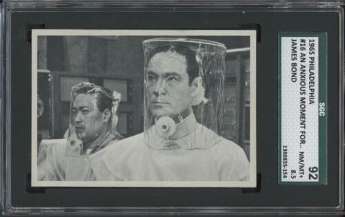 1965 Philadelphia James Bond #16 An Anxious Moment for Dr. No SGC 92 NMMT+ 8.5