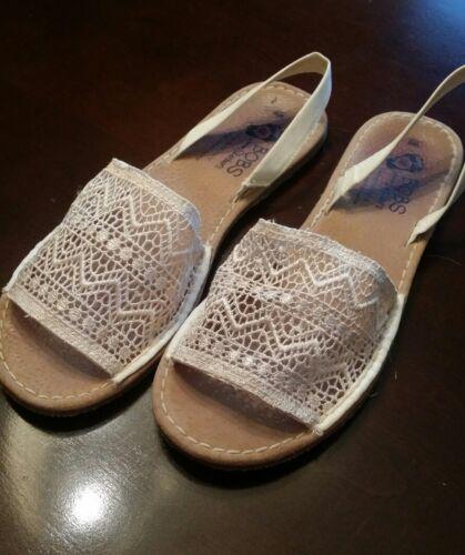 Bobs from Skechers La Playa Sandals ~ Natural ~ Si