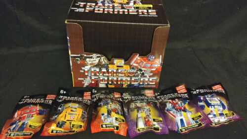 Transformers G1 Edition mini figurines complet /& individuels figures prexio