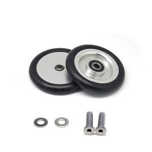 Black nov wheel CONVERTIBLE light weight easy wheel for Brompton