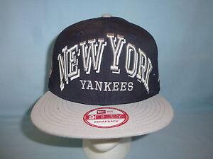 NEW YORK YANKEES New Era 9Fifty STRAPBACK CAP HAT Fits ALL Sizes NWT ... 6fe06b470