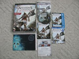 IN'S CREED IV: BLACK FLAG PLAYSTATION 3 COMPLETE W/ STRATEGY ... on
