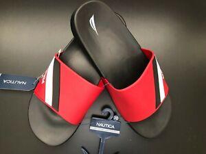 Clothing, Shoes & Accessories Men's Shoes Nautica Men's Topco Double Stripe Slide Sandal 7/8/9/10/11/12/13