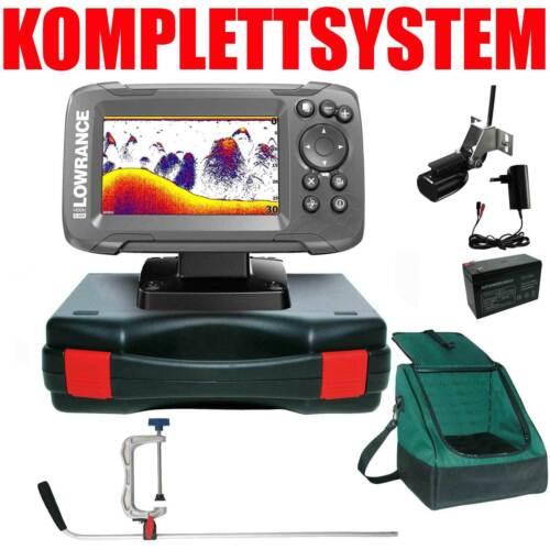 Lowrance Echolot GPS Portabel Profi Edition Plus Komplettsystem - Hook2 4x GPS