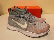 info for 8b5f2 99c50 item 5 Mens Nike Free Train Force Flyknit Sz 12 Wolf Grey White Total  Orange NEW -Mens Nike Free Train Force Flyknit Sz 12 Wolf Grey White Total  Orange NEW