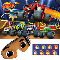 Blaze And The Monster Machine Party Game Wall Poster Birthday Party Decoration