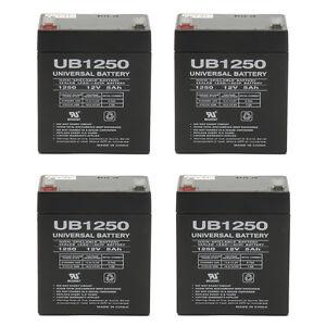 12 Pack Mighty Max 12V 5Ah Replaces APC Smart-UPS 2200VA USB SER SUA2200RM2U