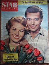 STAR REVUE 8 - 1958 * Gudula Bau Karl-Heinz Böhm Horst Buchholz Hansjörg Felmy