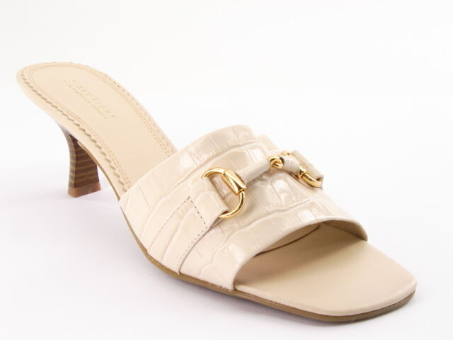New Women FIRST ISSUE LIZ CLAIBORNE Women New Leather Open Toe Slide Sandal Shoe Sz 8 M 102553