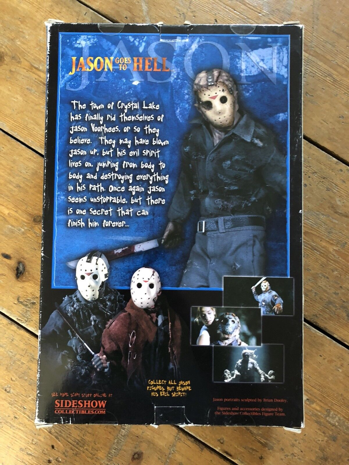 Sideshow Friday The 13 Jason Goes Goes Goes To Hell  Jason Voorhees  Exclusive AFSSC85 d13593