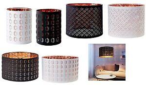 hermosa cortina de l mpara de ikea nym color cobre disponible en 2 colores y 3 tallas ebay. Black Bedroom Furniture Sets. Home Design Ideas