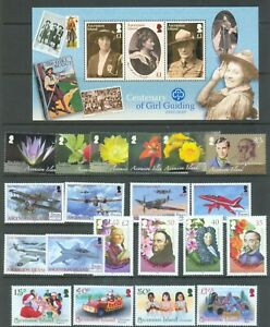 Ascension 2008-2010 Six Sets And 2 Sheets Stc 86.55 All Mnh Special Summer Sale British Colonies & Territories Stamps