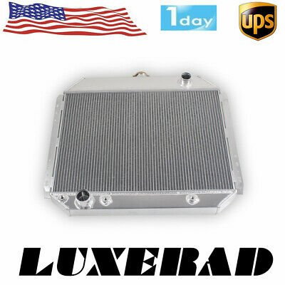 For Ford F100 F150 F250 F350 Bronco Truck 1966-1979 3 Row Radiator 67 71 75 78