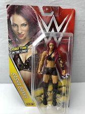 WWE SASHA BANKS Mattel Basic 59 WRESTLING FIGURE Diva New!!