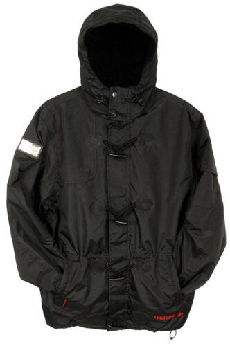 Mens Location Waterproof Rain Hooded Jacket Fleece Lined Winter Coat New