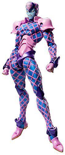 Super Action Statue 72.K.Crimson Ver.bluee Hirohiko Araki Specify color ver