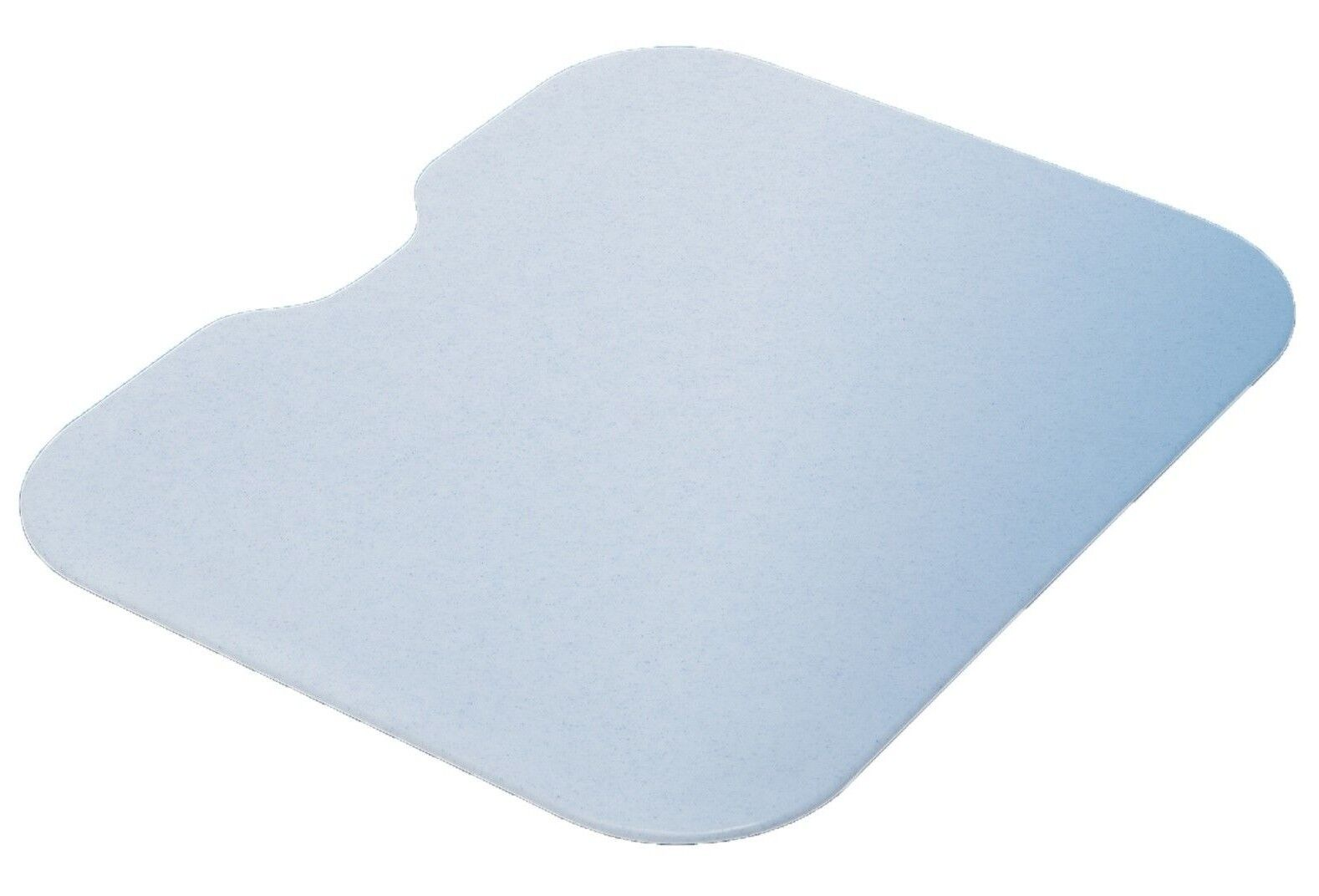 Blanc gris PLASTIC CUTTING BOARD 422x348x13mm Scratch Prougeected, Rigged Edge