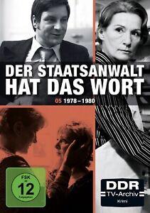 Der-Staatsanwalt-hat-das-Wort-Box-5-1978-1980-DDR-TV-Archiv-NEU-OVP-4-DVDs