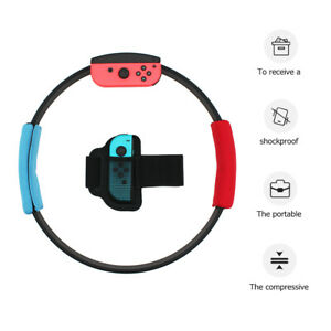 For-Nintendo-Switch-Ring-Fit-Adventure-Fitness-Exercise-Ring-Con-Grips-Leg-Strap