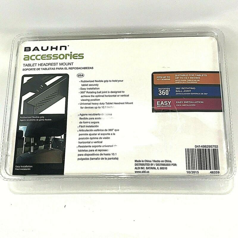 Bauhn Tablet Headrest Mount for iPad / Kindle... New