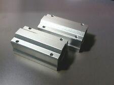 2 X Scs16luu 16mm Long Linear Blocks Shaft Rail Bearing Bushing Motion Cnc Mill