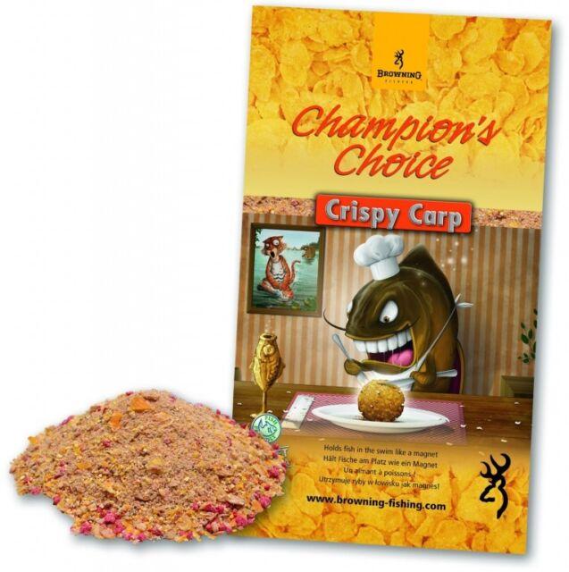1 Kg Browning Angelfutter Lockfutter Grundfutter Crispy Carp 3970040