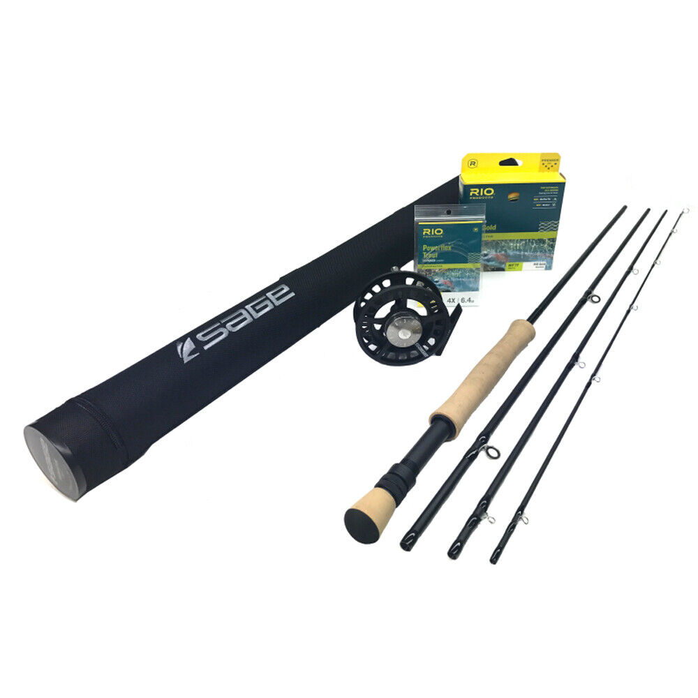 Sage Foundation 890-4 Fly Rod Outfit    8wt 9'0   take up to 70% off