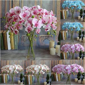 Artificial-Fake-Silk-Flower-Phalaenopsis-Butterfly-Orchid-Wedding-Decor