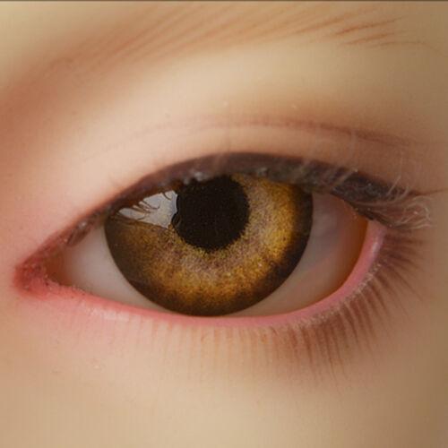 MB09 Dollmore 14mm acrylic eyes OOAK 14mm Optical Half Round Acrylic Eyes