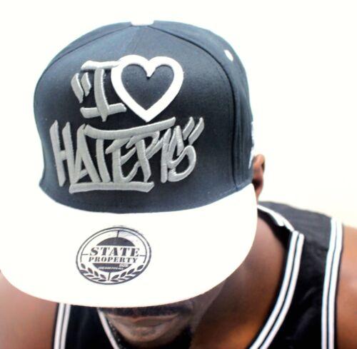 graffiti piatti picco baseball cappelli freschi Hip Hop I Love Haters snapback caps