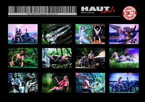 Hautnah - Tattoo & Piercing Studio Act Calendar 2021 (DIN A3 quer)