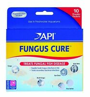 Aquarium Pharmaceuticals Fungus Cure Powder Packets 10 Pack