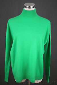 New 268 J Crew Collection Cashmere Mockneck Sweater Xxs