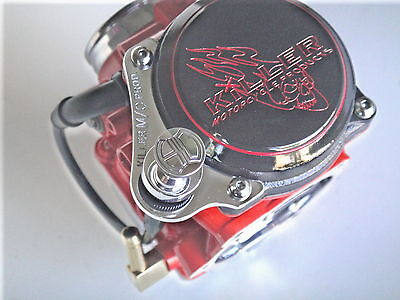 CUSTOM CHOKE MOUNT WITH CABLE FITS ALL HARLEY DAVIDSON CV CARBURETORS