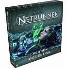 Android Netrunner Lcg: Creation and Control Expansion by Fantasy Flight Games (Undefined, 2013)